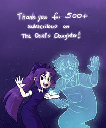 TDD Thank you on Tapastic!