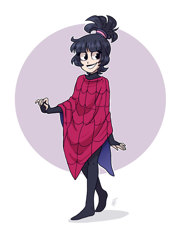 Beetlejuice Even More Cartoon Lydia By Bloodyarchimedes On Deviantart