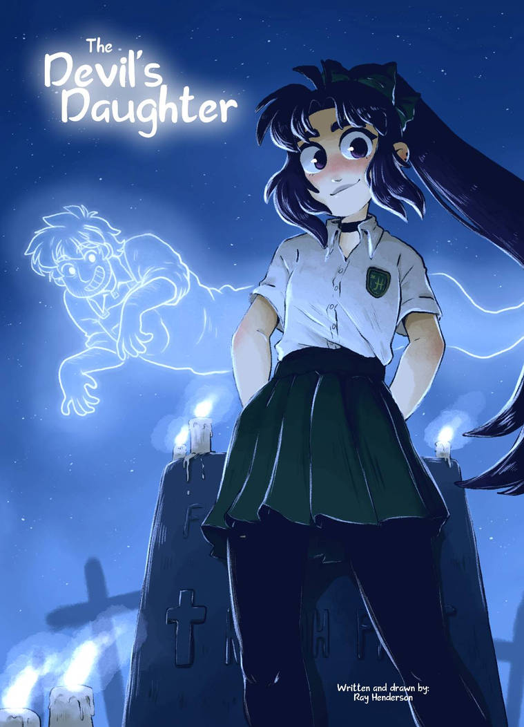 The Devils Daughter - Cemetery -