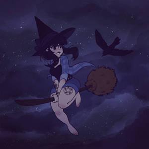 The Devils Daughter -Nighty flying-