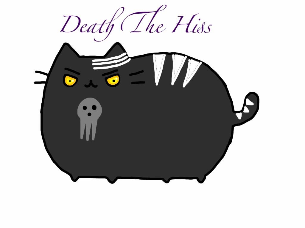 Kawaii Cat Black And Whiye