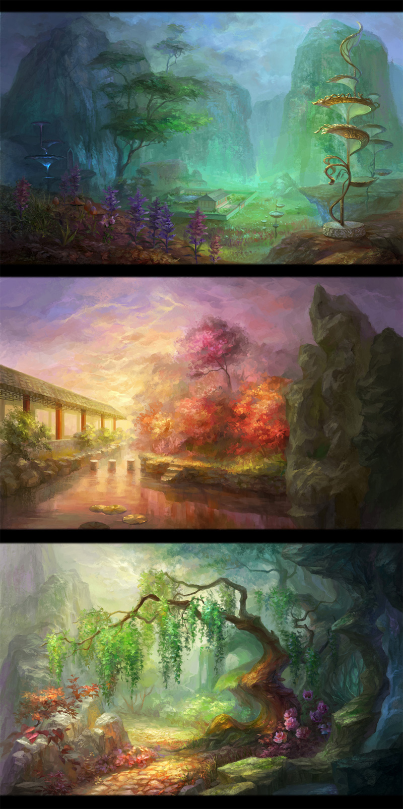 Environment by HRFleur