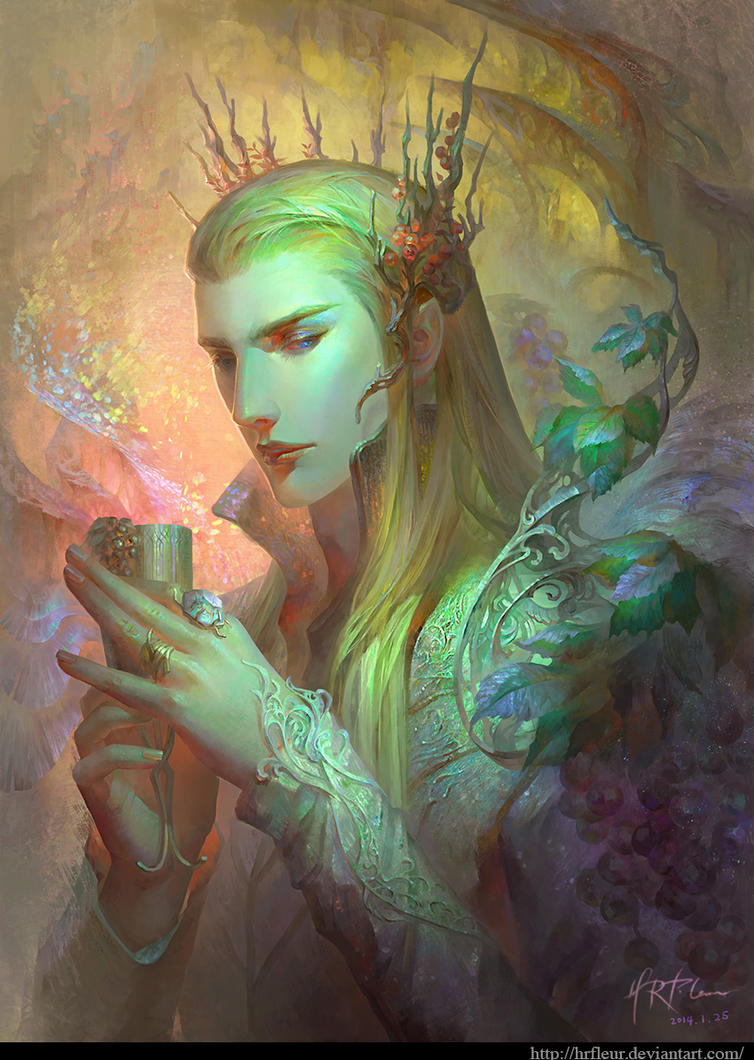 Thranduil the Woodland King by HRFleur