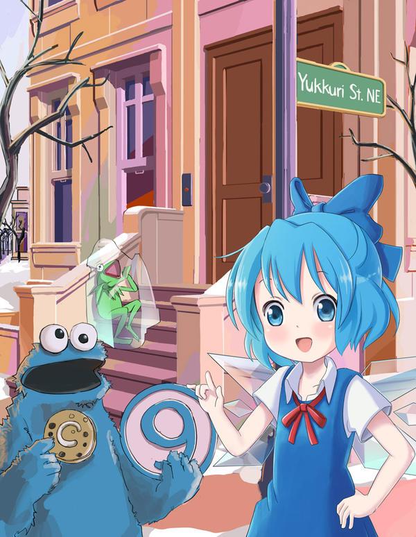 Cookie Monster Art Tour