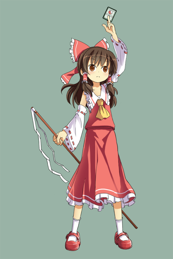 Basic Reimu by pellaeon