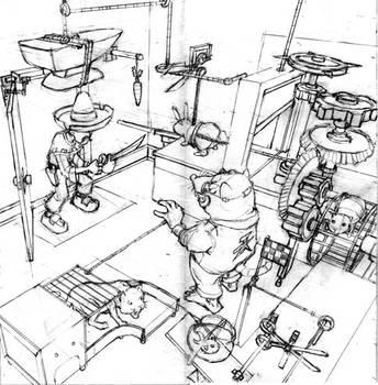 Instant Rube Goldberg Murder