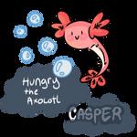 Hungry The Axolotl