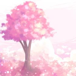 ~ Pink Tree ~ by 99SamPanda99