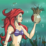 Ariel X Wilson by CosmicLuci