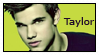 Taylor Lautner Stamp by AlainaBrown
