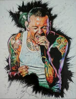 Tribute to Chester Bennington by artistic-otaku-taran