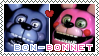 .:F2U:. Bon-Bonnet Stamp by CQ-Draws-FNaF