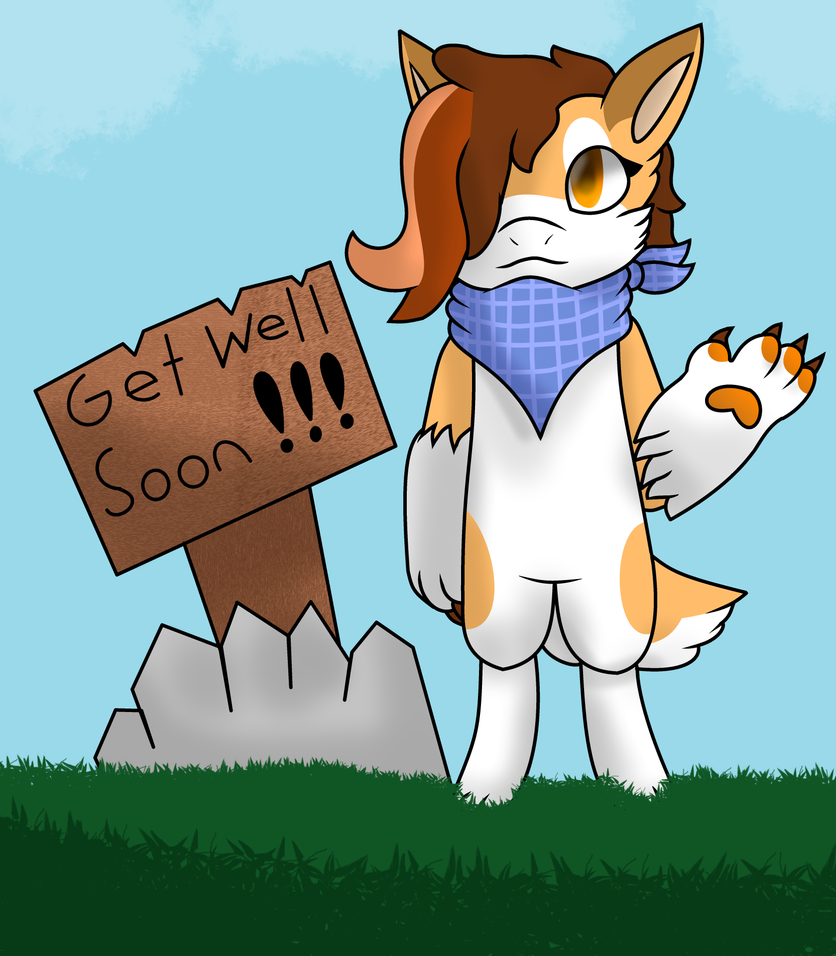 Get well soon! by mew190000