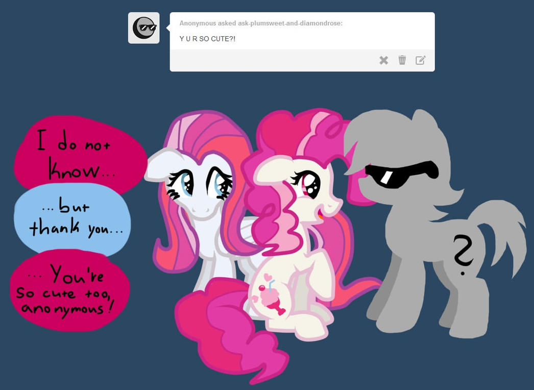Ask PlumSweet and Diamond Rose 2 by KikiRDCZ