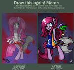 Before and After Meme - Say Goodbye!