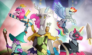 MLP: ''Dungeons And Discords'' (S6E17)
