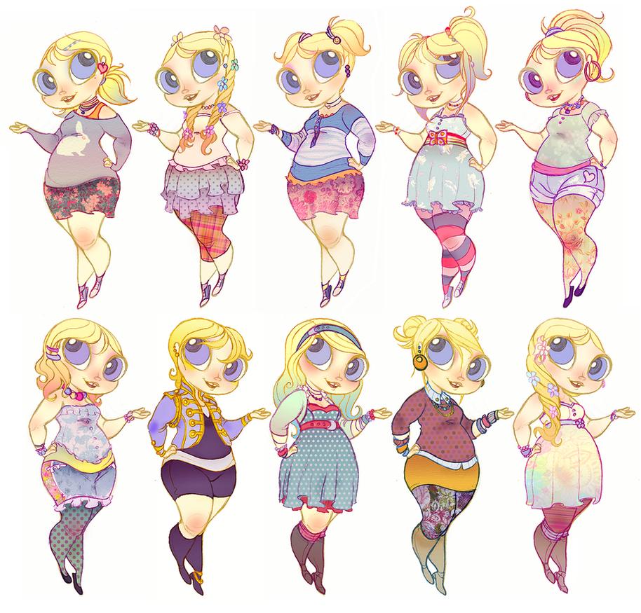 Powerpuff Girls Doodledump-38 by Busterella