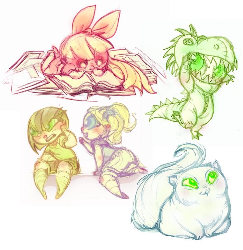 Powerpuff Girls Doodledump-44 by Busterella