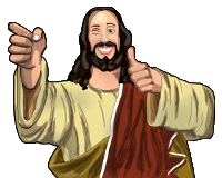 Jesus Christ bro icon by PlushieTeddy