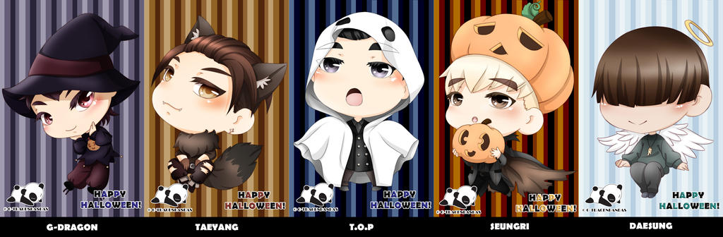 Bigbang Halloween by G-Trace