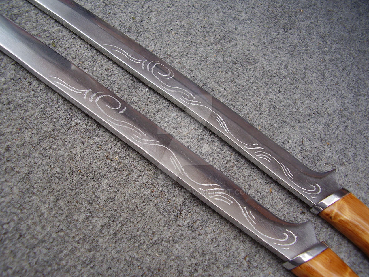 Update for Legolas swords by Dekokatana on DeviantArt