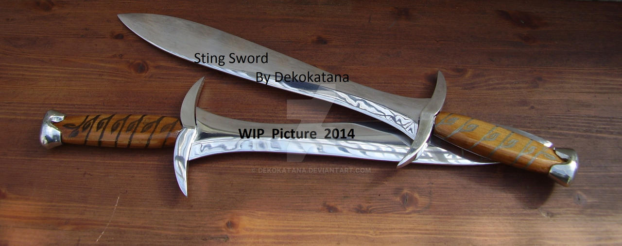 WIP Sting Swords by Dekokatana