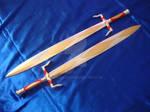 Gilded swords, redone