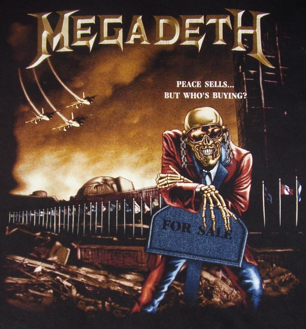Megadeth t shirt by ganox on deviantart for Who sells wallpaper