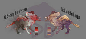 Mycelium Beast Adopts (1/2 OPEN-Prices Negotiable) by deebling