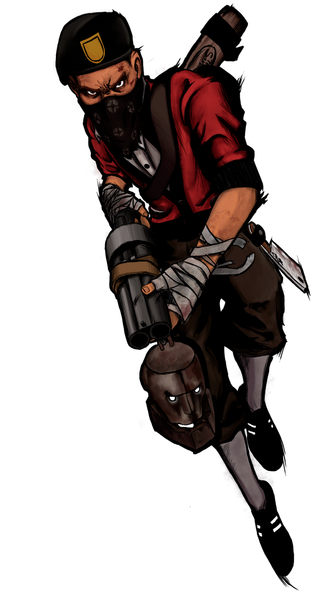 Tf2 Bill S Scout By Craftaster On Deviantart