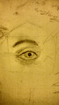 Eye sketch study-I draw too much of these BUT