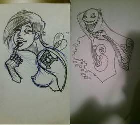 Concept Art for Cyberpunk Short 2