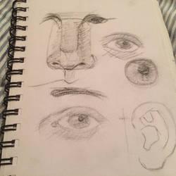 Old sketchbook doodles
