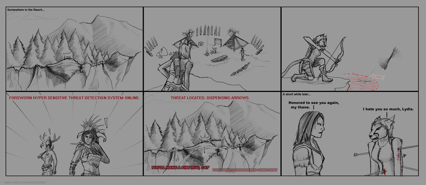 Skyrim Comic: Forsworn conspiracy by Daolpu
