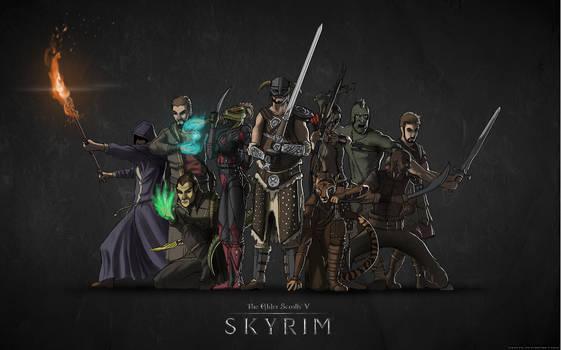 Team Dragonborn - Color by Daolpu