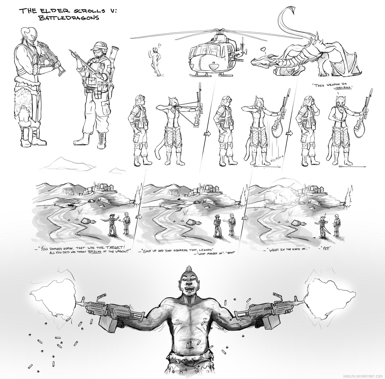 Battledragons by Daolpu