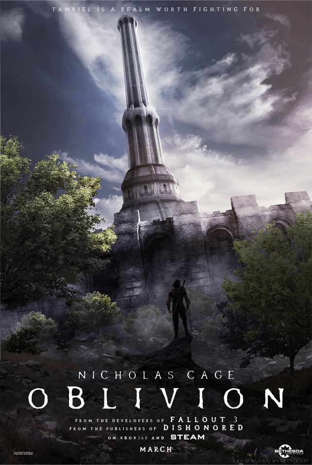 Oblivion - Alternate Poster by Daolpu