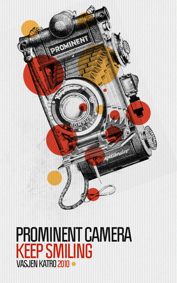 Prominent Camera Poster by Katro16