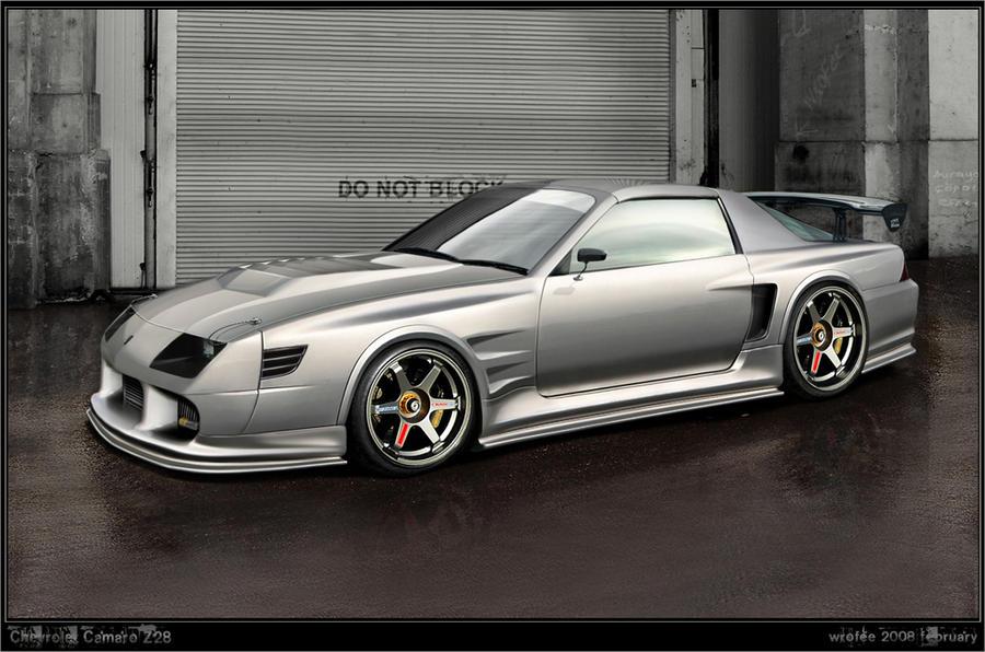 Camaro Z28 by Wrofee