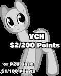 YCH/P2U Base
