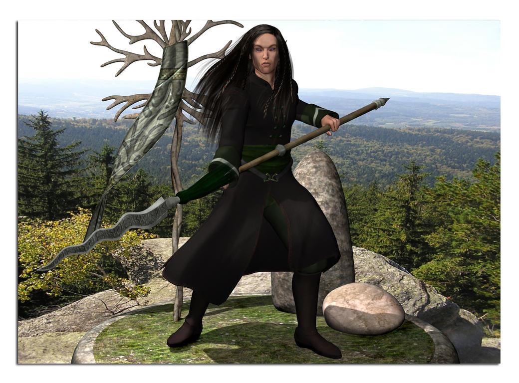 Eladrin Female Eladrin warlord by kilandranetEladrin Female Swordmage