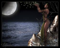 LeiSha Over The Moony Sea by Kilandranet
