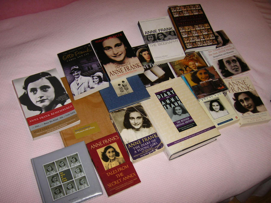 My Anne Frank collection by Charlieee23