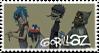 Gorillaz- For WaistDeepInThoughts by AwesomeBluePanda