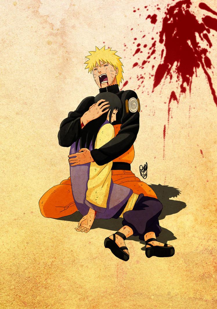 Wonderful Wallpaper Naruto Couple - naruto__naruhina__finished_by_renny08  Image_66913.jpg
