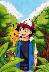Pokemon -Walking In The Forest