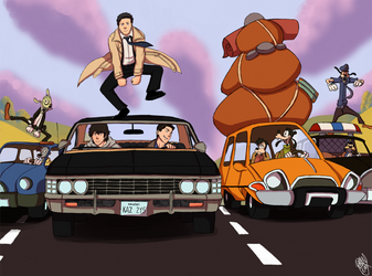 SPN - On The Open Road