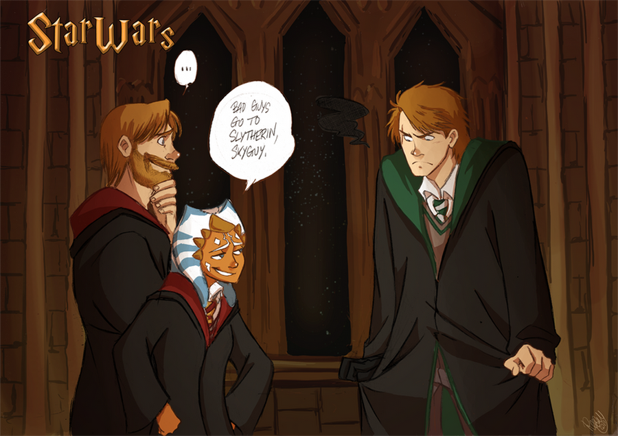 Sw Bad Guys Go To Slytherin By Renny08 On Deviantart