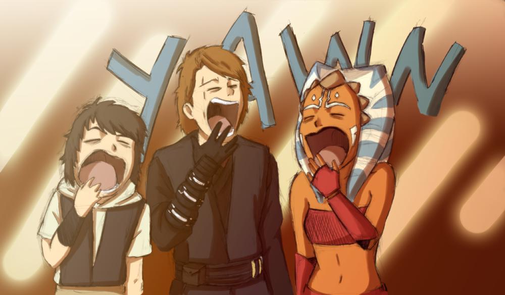 Collab - SW Big Yawn by Renny08