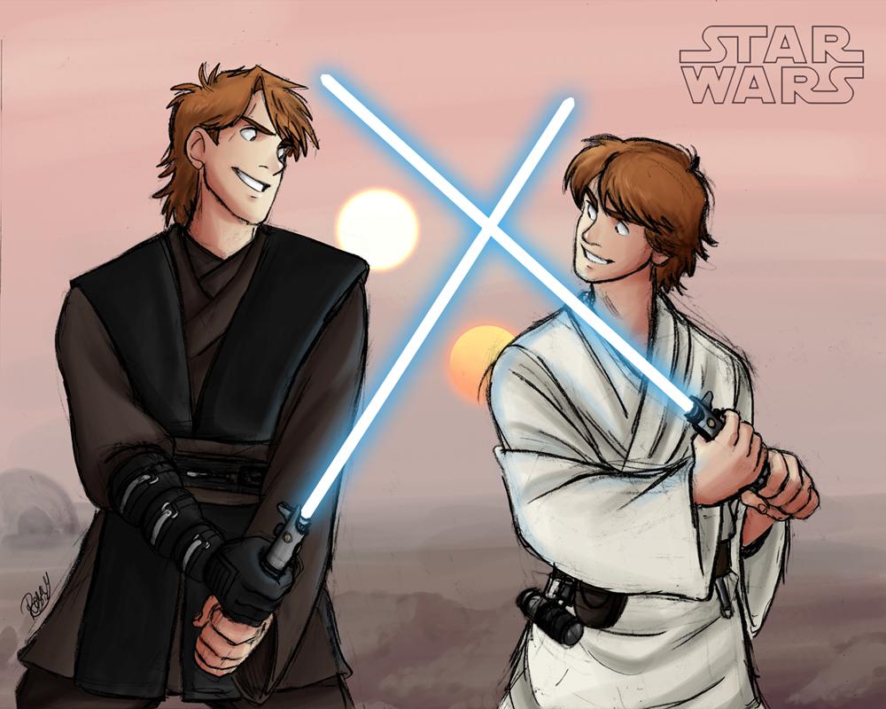Star Wars - Like Father, Like Son by Renny08
